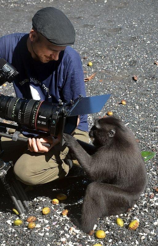 귀여운 야생동물과 사진찍기 27.jpg