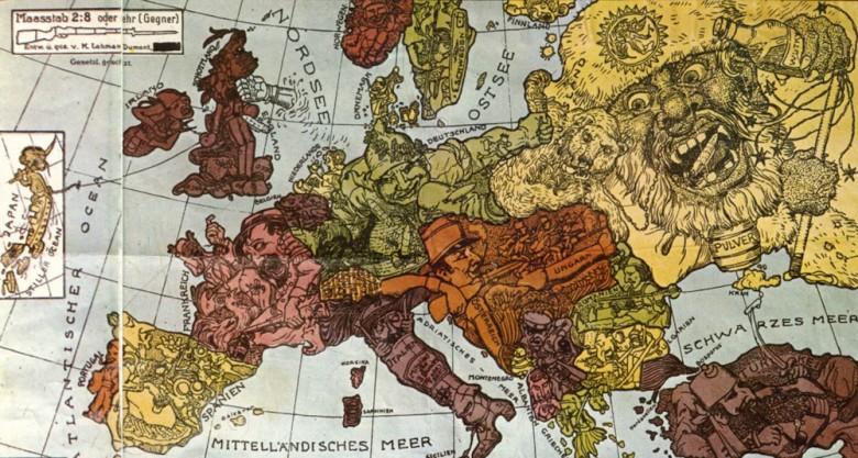 1차대전 시기에 지도에 묘사된 열강들.jpeg