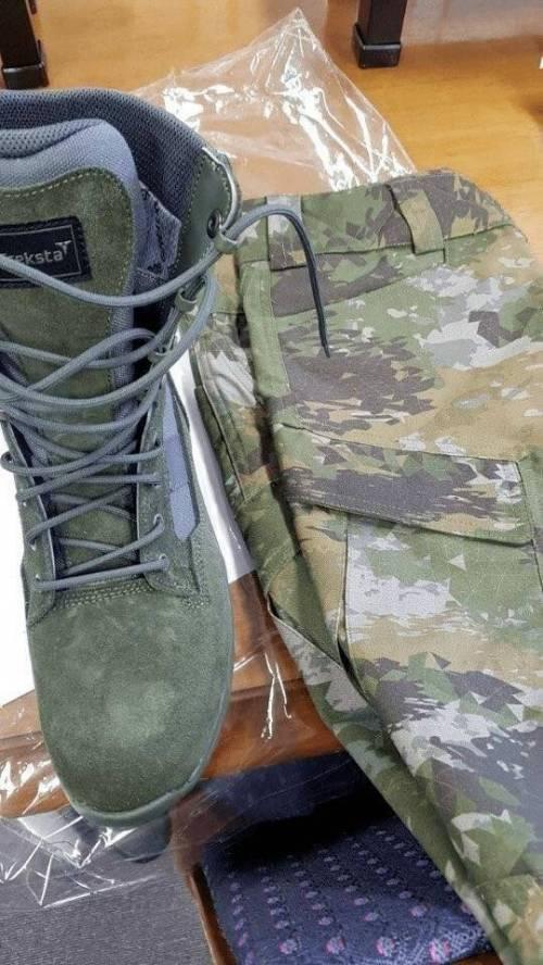 연말부터 지급 예정인 신형 군복 3.jpg
