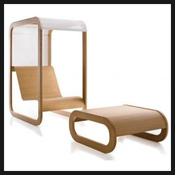 현대적인 디자인의 안락 의자
