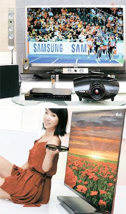 삼성 vs LG vs 소니, 스마트TV 첫 대결 승자는 ?